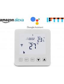 Biely WiFi termostat